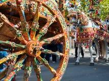 Folclore de Sicília fotografia de stock