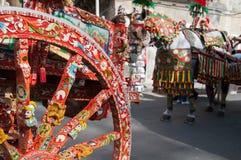 Folclore de Sicília foto de stock royalty free