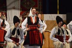 folclore del festival del international 10 en Lukavac 9 7 2016 Fotos de archivo
