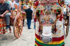 Folclore della Sicilia Immagine Stock
