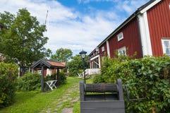 Folclore e museo marittimo Oregrund Svezia immagine stock