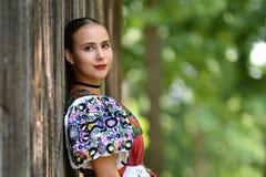 Folclore eslovaco fotos de archivo