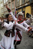 Folclore Festival2 di Praga Fotografia Stock Libera da Diritti