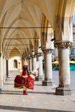 Folclore Lajkonik de Krakow Fotos de Stock Royalty Free