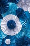 Fold paper background Stock Image