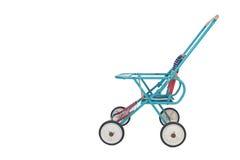 A foldable retro baby stroller Royalty Free Stock Photos