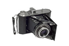 Foldable vintage camera Stock Photo