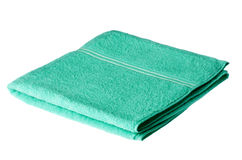 Folded bath towel Royalty Free Stock Photo