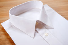 Folded blank white shirt Royalty Free Stock Photography