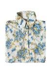 Folded blouse isolated Stock Photos
