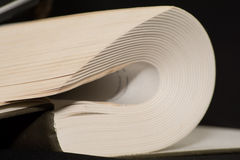 Folded book Royalty Free Stock Photos