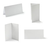 Folded card Stock Photo