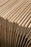 Folded Cardboard Boxes Stock Photo