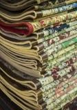 Folded carpets. Stock Photo
