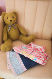 Folded Childrens Clothes Stock Photos