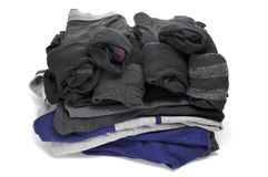 Folded clothes Royalty Free Stock Photos
