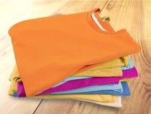 Folded stock image