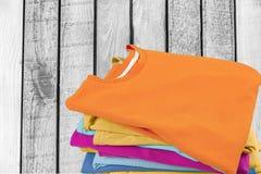 Folded stock photo