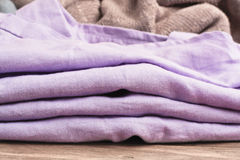 Folded cotton Stock Images