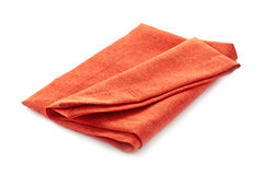 Folded cotton napkin Stock Images