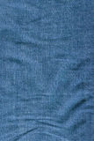 Folded denim texture Stock Image