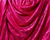 Folded disco glitter canvas Stock Image