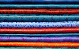 Folded fabric Royalty Free Stock Photo