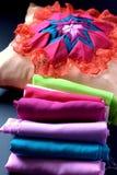 Folded fabric Stock Photography