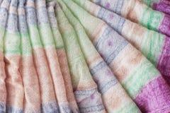 Folded fabric Stock Photo