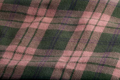 Folded Flannel Stock Photography