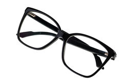 Folded geek glasses royalty free stock image