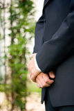 Folded hands Royalty Free Stock Photography