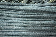 Folded Jeans Royalty Free Stock Photo
