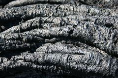 Folded lava background Stock Photo