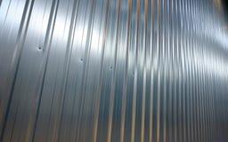 Folded metal zinc sheet Stock Images