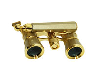 Folded Modern Opera Glasses Royalty Free Stock Photo