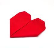 Folded napkin Royalty Free Stock Photos