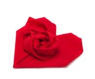 Folded napkin Royalty Free Stock Photo