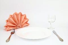 Folded napkins Royalty Free Stock Images