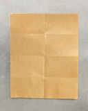Folded note paper stock images