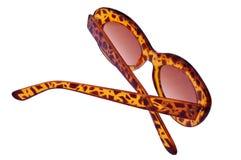 Folded Old Fashioned Sunglasses Royalty Free Stock Image