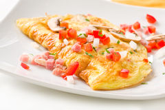 Folded Omelette Royalty Free Stock Image