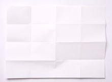 Folded paper Royalty Free Stock Photo