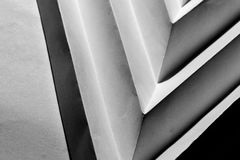 Folded paper abstract. In triangle form stock photos