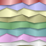 Folded Paper Background Stock Photo