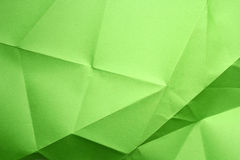 Folded paper. Folded new color full paper stock photography