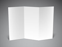 Folded Paper Sheet Royalty Free Stock Photography