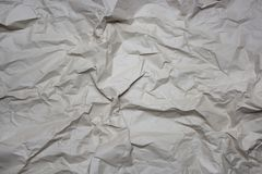 Folded paper texture. A closeup photo of folded paper texture royalty free stock photography