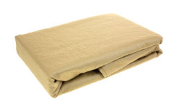 Folded pillowcases Stock Photography