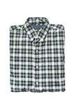 Folded shirt isolated Stock Images